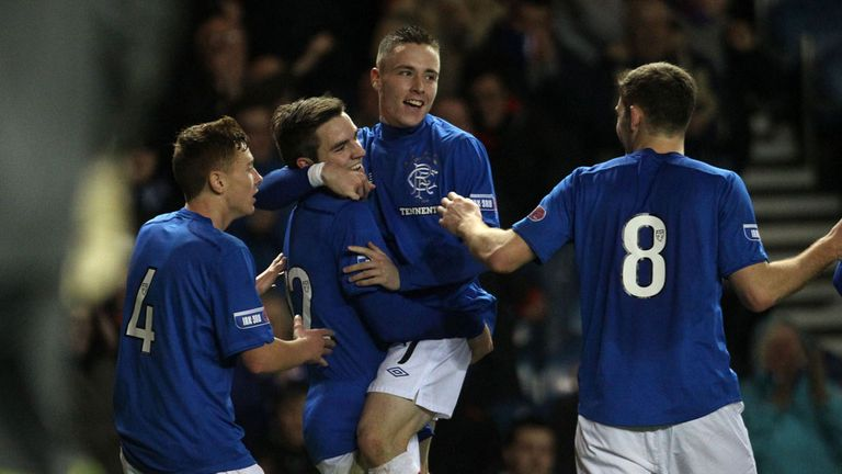 Rangers have clinched the Third Division title with seven games to spare.