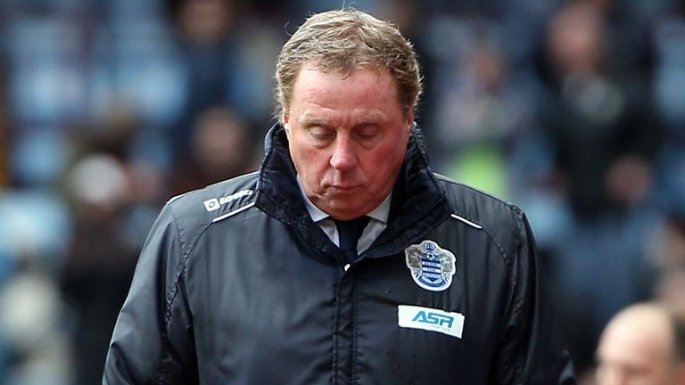 Harry Redknapp: QPR boss claims he would turn down England job
