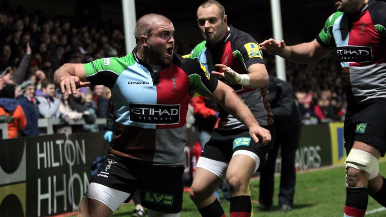 Harlequins: Top points scorers in the competition so far