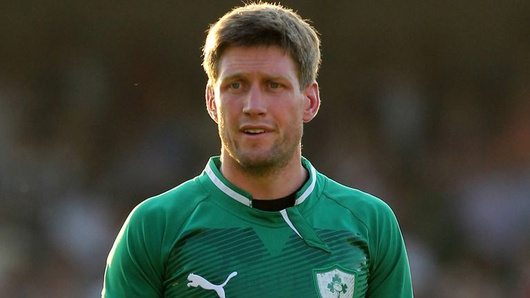 Ronan O'Gara: The veteran fly-half has been axed for Saturday's Test with France