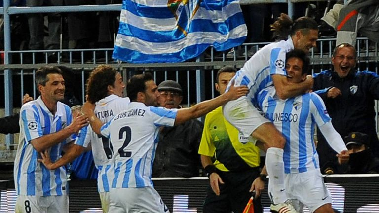Roque Santa Cruz: Striker says Malaga can reach Champions League semi-finals