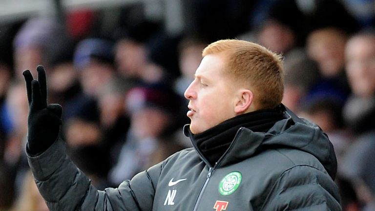 Neil Lennon: Not happy with the attitude of his side