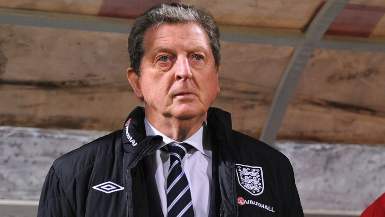 Roy Hodgson: England down to seventh in the world