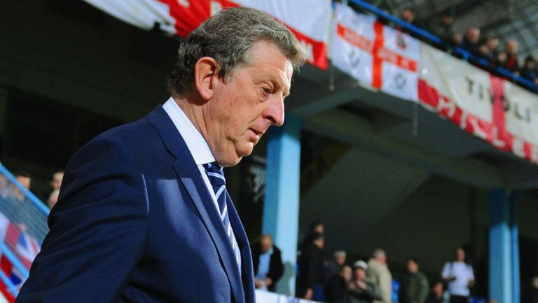Roy Hodgson: Saw England drop two crucial points in Montenegro