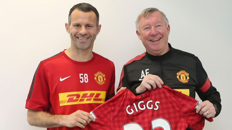 Ryan Giggs: Rewarded with one-year contract extension
