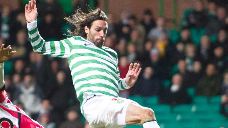 Georgios Samaras: Greek striker on target for Celtic