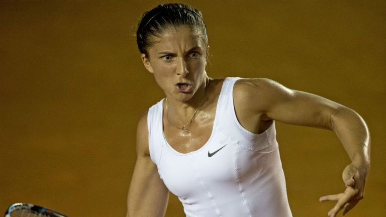 Sara Errani: Home favourtie moved into the quarter-final with ease