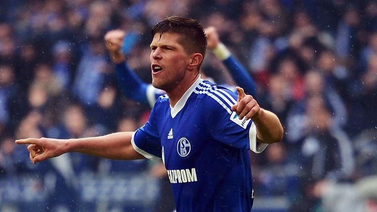 Klaas-Jan Huntelaar: Back in training for Schalke