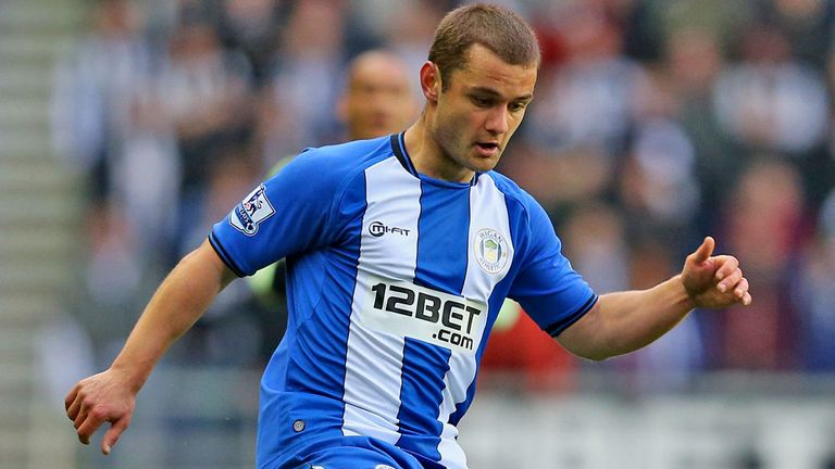 Shaun Maloney: Wigan winger happy at the DW Stadium