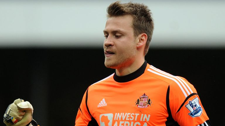 Simon Mignolet: The Sunderland goalkeeper could become the new No.1 at Liverpool