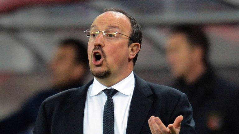 Rafael Benitez: Confident of turning tie around at Stamford Bridge