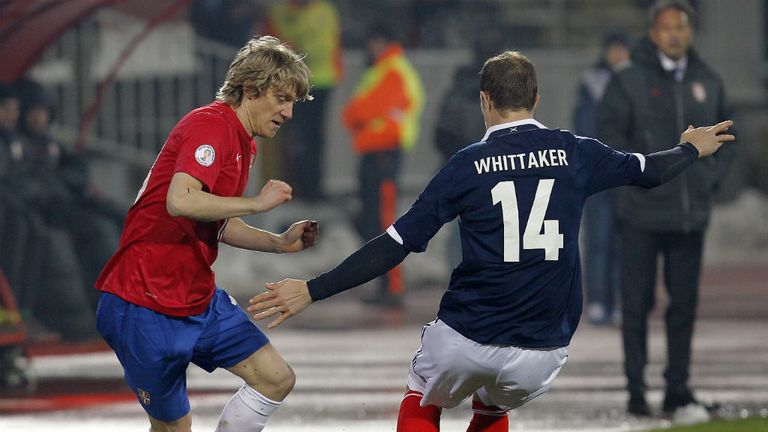 Steven Whittaker: Hoping for good results against Macedonia and Croatia