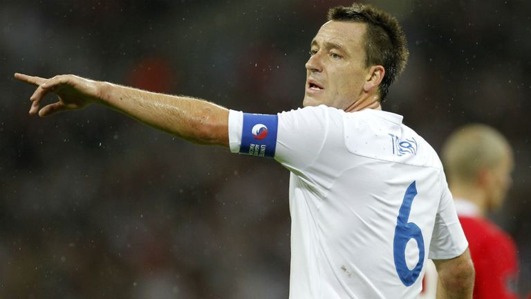 John Terry: Reportedly considering a return to the England team