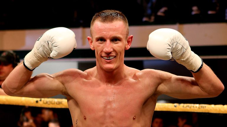 Thomas Stalker: Will have his second professional fight this weekend