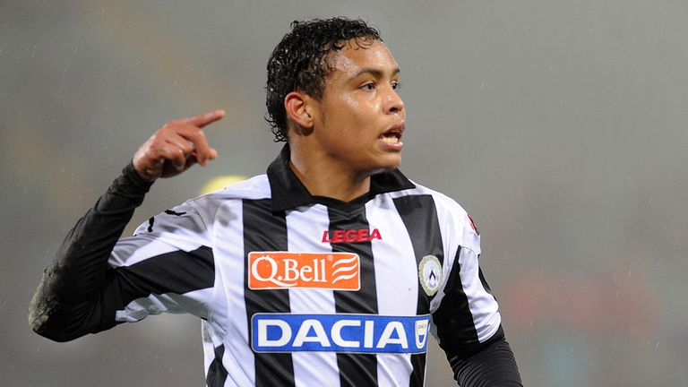 Luis Muriel: Has hinted he may snub a move away from Udinese this summer