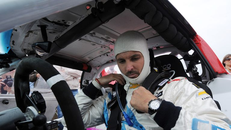Yvan Muller: Raced to his second pole position of the season