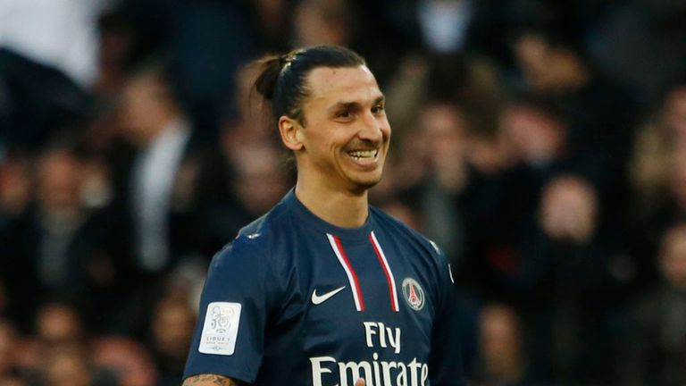 Zlatan Ibrahimovic: At the double for PSG
