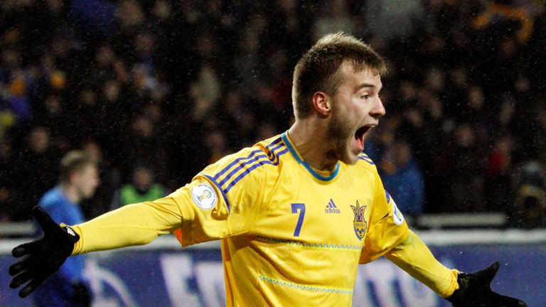 Andriy Yarmolenko: Confident Ukraine can beat England on Tuesday evening