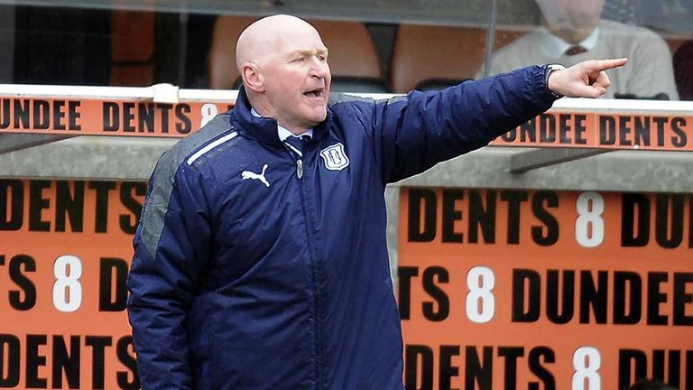 John Brown: First award as Dundee boss