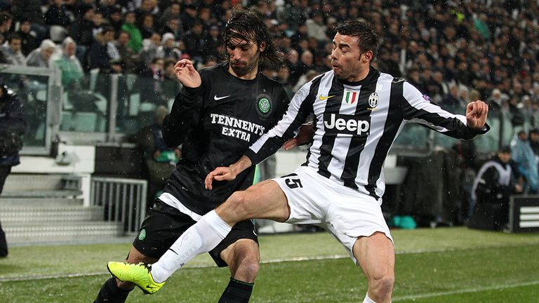 Andrea Barzagli (r): Close to signing an extension