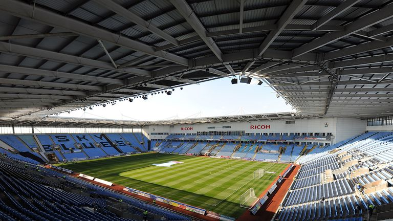 Ricoh Arena in Coventry - home or away?
