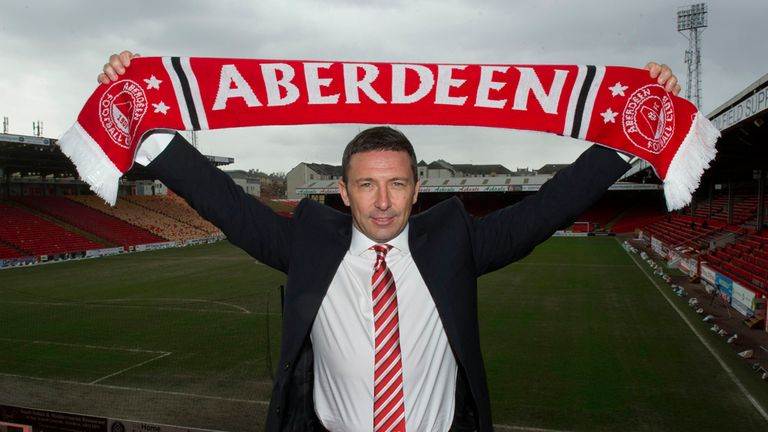 Derek McInnes: 'Hopefully this season we can see that improvement'