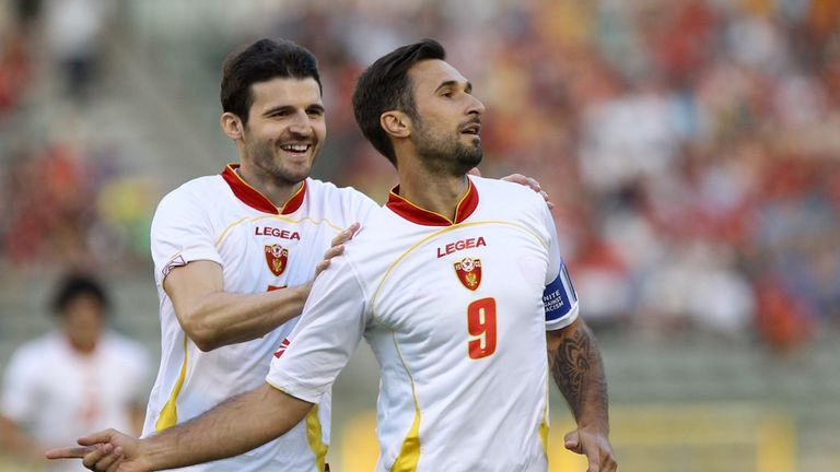 Montenegro forward Mirko Vucinic: Gunning for England