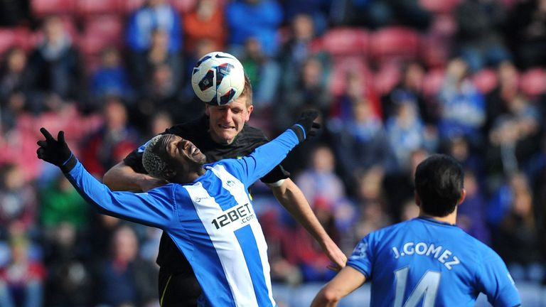 Arouna Kone: Spearheading Wigan's Premier League survival bid