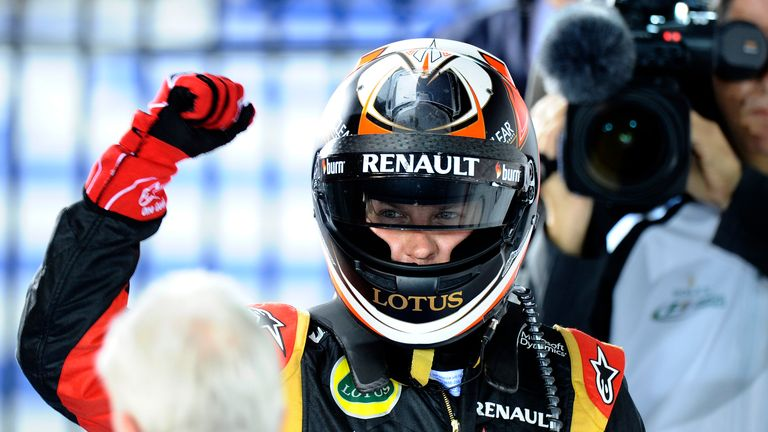 Kimi Raikkonen: Made a winning start to 2013