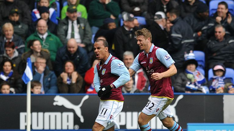 Gabriel Agbonlahor: Scored the winner against Reading