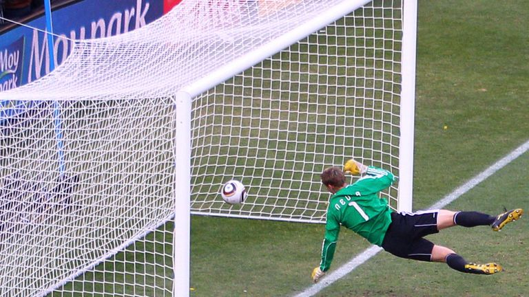 It is hoped goal-line technology will eradicate incidents like Frank Lampard's disallowed goal for England against Germany