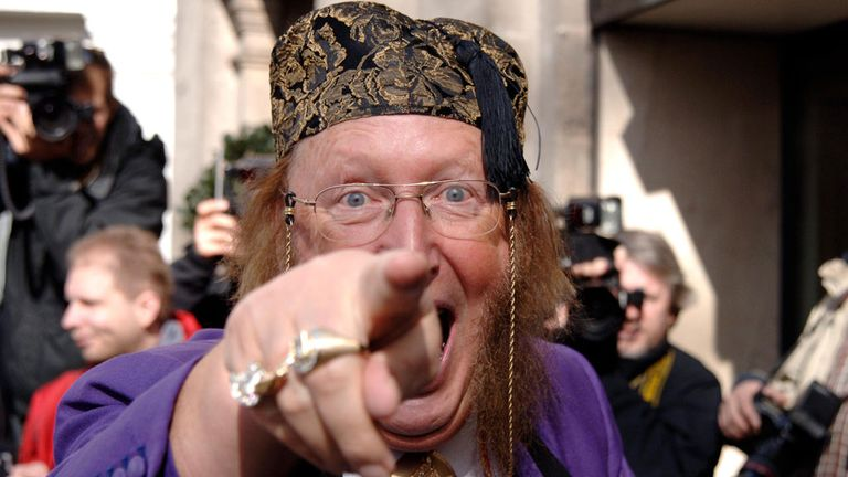 John McCririck: Released from hospital