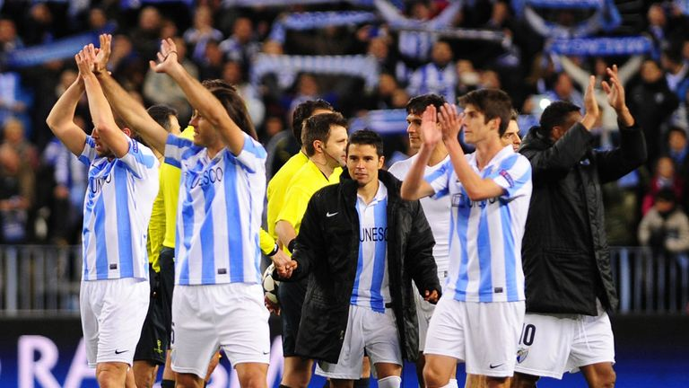 Malaga: Players await verdict of ban appeal