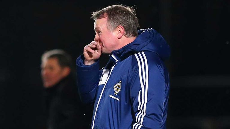 Michael O'Neill: Lamented his side's display in the Cyprus draw
