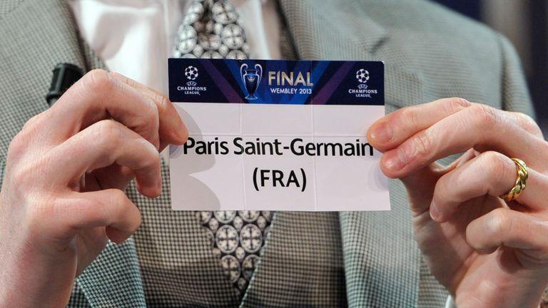 Paris Saint-Germain are drawn against Barcelona in the Champions League quarter finals.