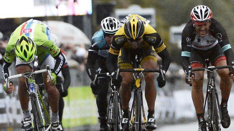 Gerald Ciolek won a dramatic Milan - San Remo in 2013