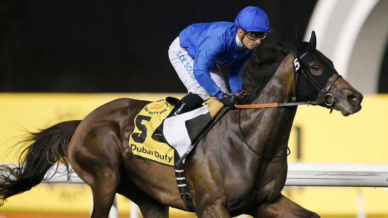 Sajjhaa: Aims to boost Godolphin's fortunes