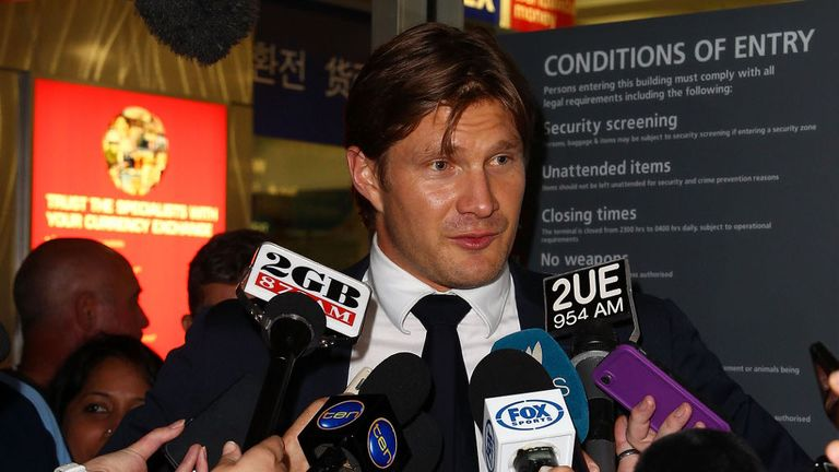 Shane Watson grilled by the press after his return from India