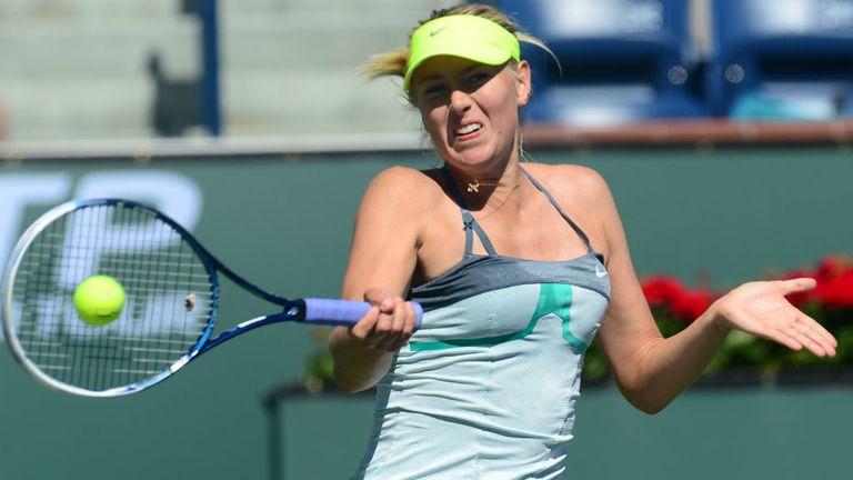 Maria Sharapova: Will next face Sara Errani in a repeat of last year's French Open final