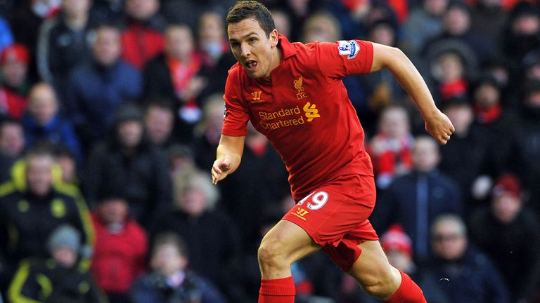 Stewart Downing: Feeling settled at Anfield and on top of his game