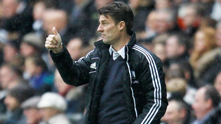 Michael Laudrup: Pleased with Swansea's performances despite poor results