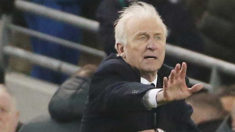 Giovanni Trapattoni: Under fire after Republic of Ireland lost to Sweden