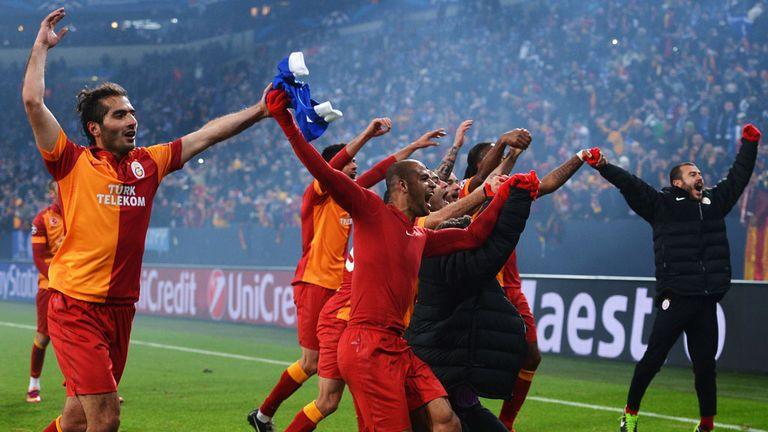 Galatasaray: Went through against Schalke