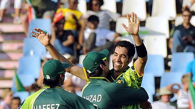 Umar Gul: making good progress in his rehabilitation