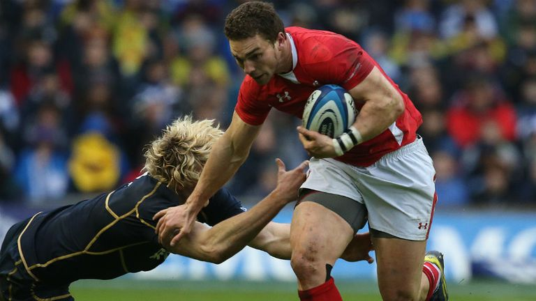 George North: The Wales winger is reportedly attracting interest from Top 14 clubs