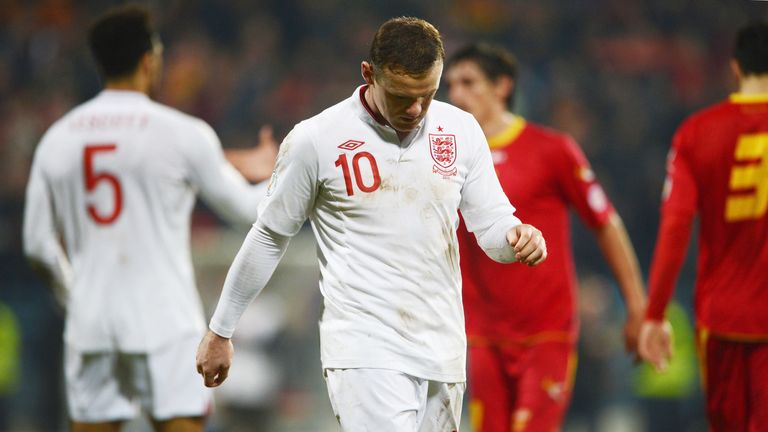 Wayne Rooney: headed England into a lead they could not maintain