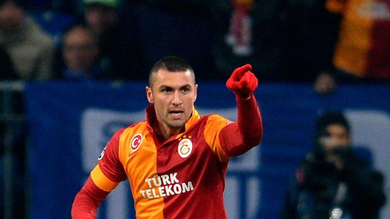 Burak Yilmaz: Lazio eyeing Galatasaray striker