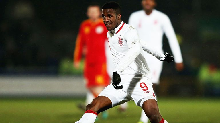 Wilfried Zaha: Scored the opening goal for England.