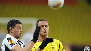Ewerton: Pleased with the 0-0 draw against Newcastle in the Europa League