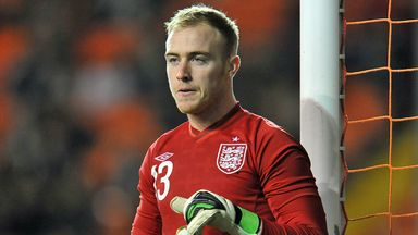 Jason Steele: Happy to keep clean sheet on his debut
